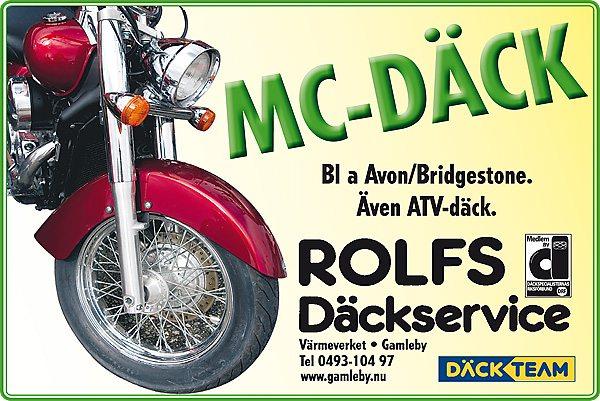 Däck till motorcykel och moped